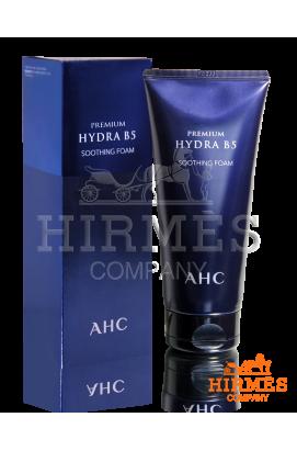 Увлажняющая и успокаивающая очищающая пена с витамином B5 AHC Premium Hydra B5 Soothing Foam