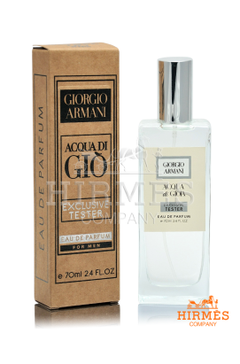 Парфюмированная вода Giorgio Armani Acqua Di Gio For Men Exclusive Tester 70 ML
