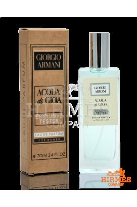 Парфюмированная вода Giorgio Armani Acqua Di Gioia Exclusive Tester 70 ML