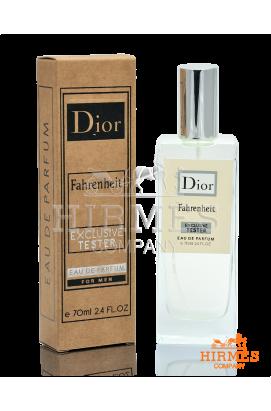 Парфюмированная вода Dior Fahrenheit Exclusive Tester 70 ML