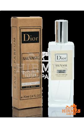 Парфюмированная вода Dior Sauvage Exclusive Tester 70 ML