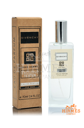 Парфюмированная вода Givenchy Pour Homme Exclusive Tester 70 ML