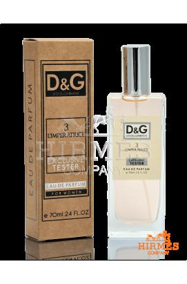 Парфюмированная вода Dolce & Gabbana 3 L`imperatrice Exlusive Tester 70 ML