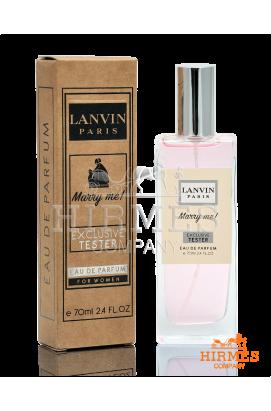 Парфюмированная вода Lanvin Marry me! Exclusive Tester 70 ML