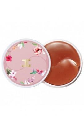 Гидро-гелевые патчи Jay Jun Roselle Tea Eye Gel Patch с цветочным экстрактом ( качество оригинала)
