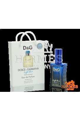 Dolce Gabbana Light Blue Pour Homme в подарочной упаковке 50 ML