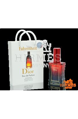 Christian Dior Fahrenheit в подарочной упаковке 50 ML