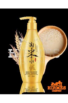 Шампунь для волос разглаживающий Bioaqua Wash Rice Water с рисовой водой