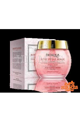 Гелевая маска для лица с лепестками роз Bioaqua Rose Hydrating Moisturizing Petal Mask