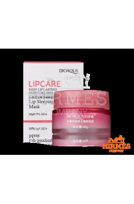 Маска для губ ночная Bioaqua Lip Sleeping Mask с экстрактом клубники