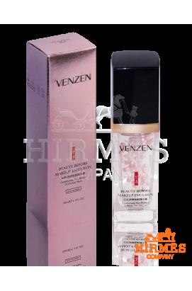 База-эмульсия под макияж Venzen Beauty Before MakeUp Emulsion с жемчужной пудрой