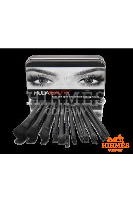 Набор кисточек для профессионального макияжа Huda Beauty в жестком футляре