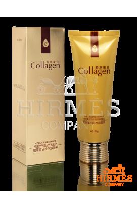 Нежная увлажняющая пенка для умывания с коллагеновым комплексом Collagen Essence Hydrating Cleanser