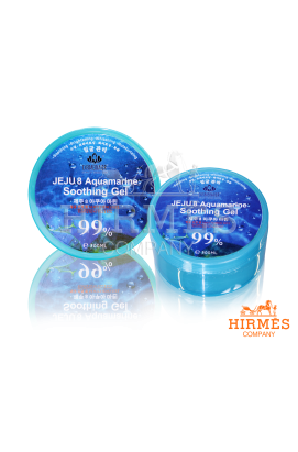 Гель для лица и тела JEJU 8 Aquamarine Soothing Gel (Аквамарин)