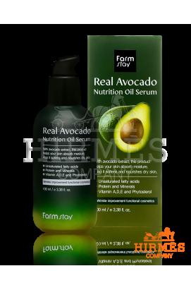 Сыворотка для лица Farm Stay Real Avocado Nutrition Oil Serum c авокадо