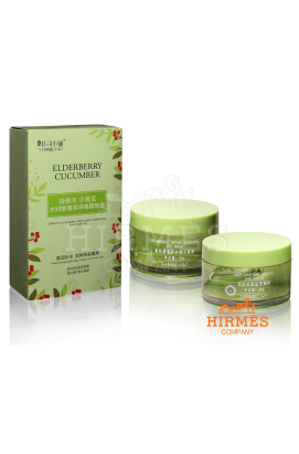 Интенсивный восстанавливающий комплекс для кожи вокруг глаз Eldberry Cucumber Hydra-Sleek Brightening Eye Cream Set
