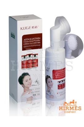 Пенка для умывания с астаксантином Astaxanthin Freez-dried Powder Hydrating And Repairing Mousse