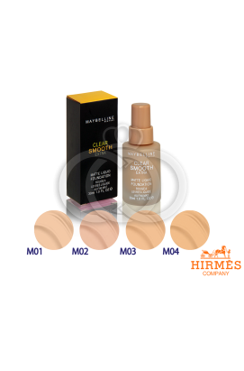 Тональный крем Maybelline Clear Smooth Extra Matte Liquid Foundation