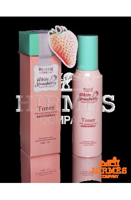 Увлажняющий тонер с экстрактом белой клубники Toner White Strawberry Extract