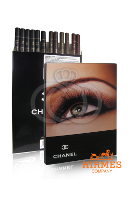 Карандаши для глаз и бровей Chanel 12шт