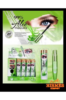 Тушь для ресниц с экстрактом алоэ Aloe Mascara 99%