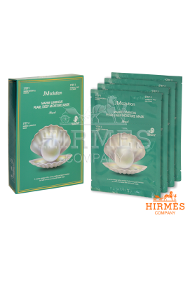 Тканевая маска JMsolution Marine Luminous Pearl Deep Moisture Mask с жемчугом ( 10 штук)