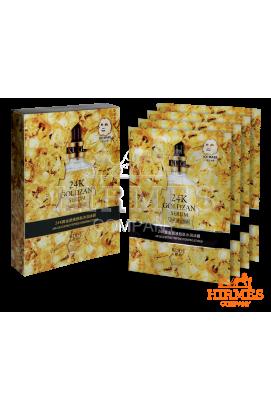 Тканевая маска 24 K Goldzan Serum с коллоидным золотом ( 10 штук)
