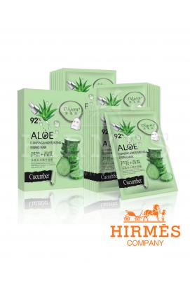 Тканевая маска Aloe 92% с экстрактом алоэ и огурца поштучно