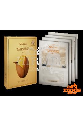 Тканевая маска JMsolution Lacto Saccharomyces Golden Rice Mask с лактобактериями ( 10 штук)