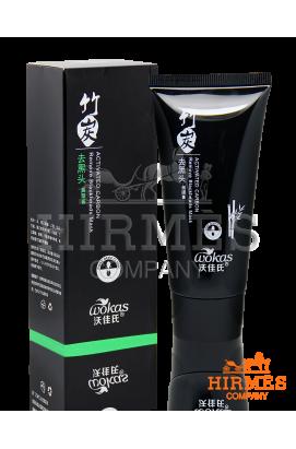 Угольная маска-пленка для глубокой чистки пор Activated Carbon Remove Blackhead Mask