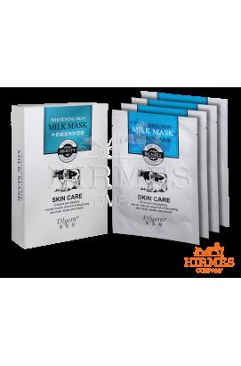 Смягчающая маска с молочными протеинами Whitening Skin Milk Mask ( 10 штук)