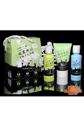 Набор для глубокой чистки пор носа c древесным углём Smell Black Tear Nasal Paste Trilogy трёхступенчатый