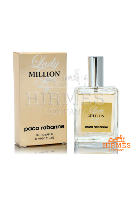Парфюмированная вода Paco Rabanne Lady Million 35 Ml