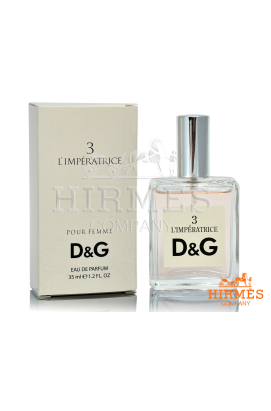 Парфюмированная вода D&G 3 L`Imperatrice 35 Ml