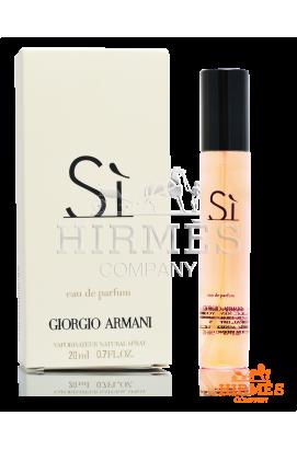 Парфюмированная вода (мини) Giorgio Armani Si