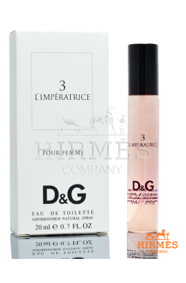 Туалетная вода (мини) Dolce&Gabbana Anthology L`Imperatrice 3  20 ML