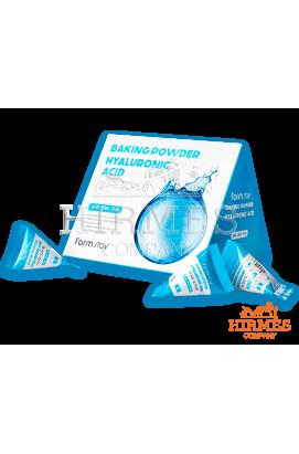Скраб для лица Farm stay Bakihg Powder Hyaluronic Acid Pore Scrub с гиалуроновой кислотой