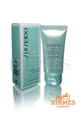 Пилинг для лица Shiseido «Green Tea»