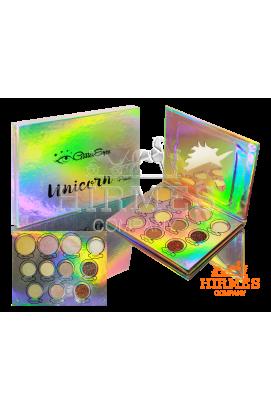 Палетка теней для век Unicorn Glitter Eyes