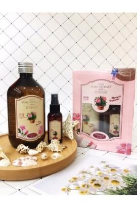 Натуральный увлажняющий тонер с экстрактом розы Rose Extract Toner