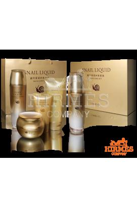 Набор для восстанавливающего ухода Snail Liquid Skin Care Set с концентрированным экстрактом улитки ( высокое качество) МЯТАЯ УПАКОВКА